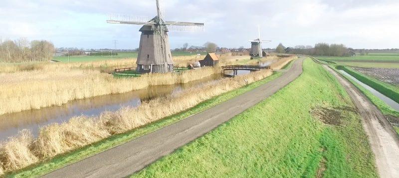 Strijkmolens Rustenburg Noordschermerdijk