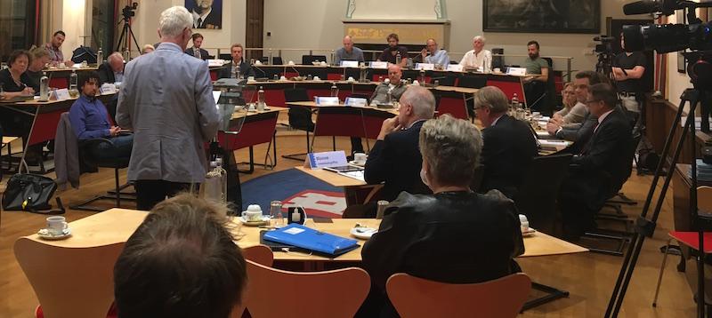 Inspreken Erfgoednota, Commissie Ruimte 6 September 2016